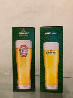 Heineken 喜力 啤酒杯 紀念版 beer