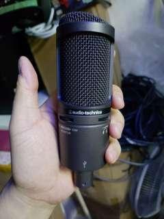電容咪 Audio-Technica AT2020USB+