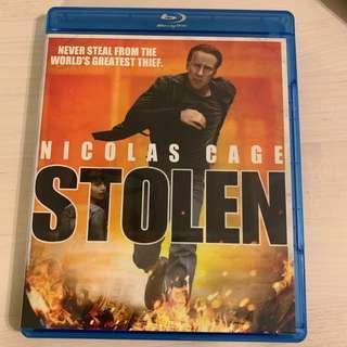 Blu Ray 盜數計時 Stolen Nicolas Cage 美版英字