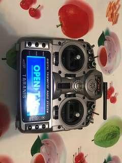 Frsky taranis radio system.  - x9D plus telemetry 2.4ghz