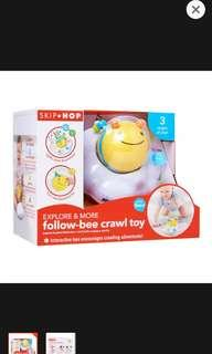 BN Skip Hop Follow Bee Crawl Toy