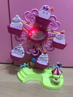 My little pony look-a-like Musical Ferris wheel- good condition!