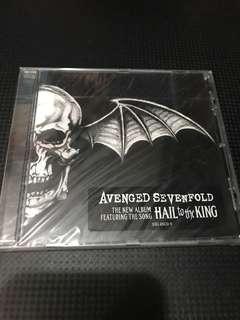 全新 Avenged Sevenfold Hall to the King