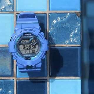 Jam Tangan Pria Casio G-Shock G-SQUAD GBD 800 2DR Bluetooth Rubber Original