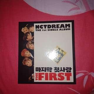 NCT DREAM The 1st Single Album