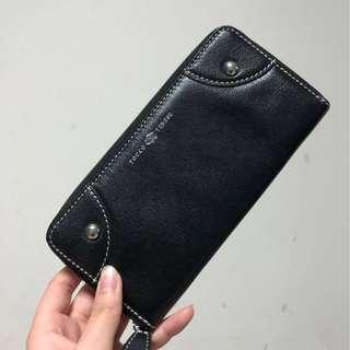 Tocco Tenero Black Leather Wallet