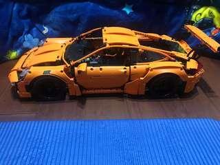 🚚 樂拼 保時捷911 GT3R