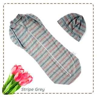 🚚 Hot Cute StripeGrey Instant Swaddle Zip