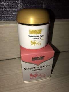 Sheep placenta cream from Australia