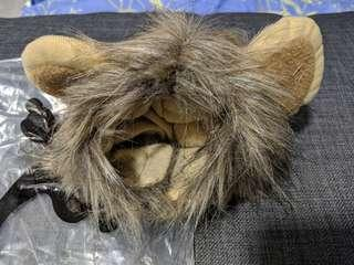 🚚 Lion mane cat headband head gear