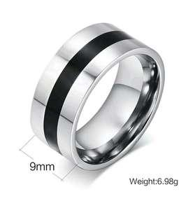 Cincin Stainless Steel model Black Line