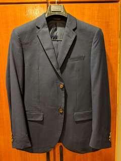 2 Piece Suit Navy size 44 waist 30