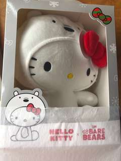 df1f3631b [LIMITED EDITION] We Bare Bears x Hello Kitty Limited Edition Soft Toy (Ice