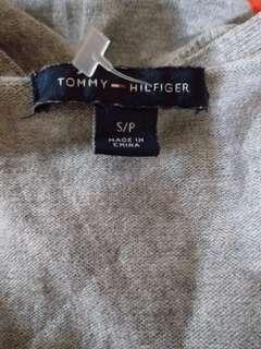 110 Tommy Hilfiger Silver Dots Cotton LS Top S