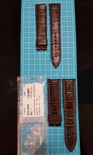 Authentic Jaeger-LeCoultre Alligator Leather Strap