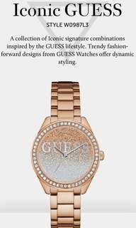 🚚 Iconic GUESS STYLE W0987L3 A collection of Iconic signature combinations inspired by the GUESS lifestyle. Trendy fashion-forward designs from GUESS Watches
