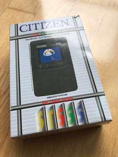 Citizen LCD TV