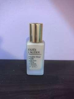 Estee Lauder Double Wear Nude Water Fresh Makeup SPF 30 warm vanilla