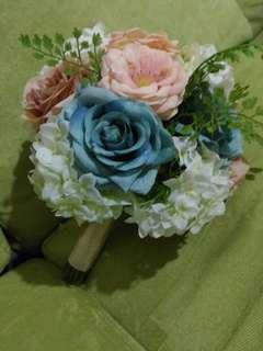 復古古典絲花花球