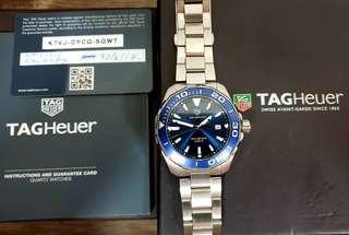 PRICE REDUCED - Tag Heuer Aquaracer - Authentic with Warranty Card