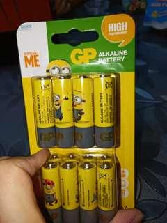 "🚚 ""Despicable Me "" GP Alkaline Battery"