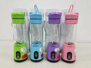 6 Blades Portable Blender/Rechargeable Juicer/ Juice Maker/Protein Shake Blend