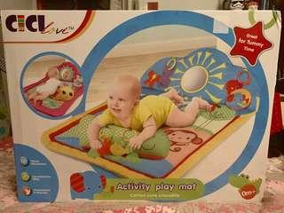 🚚 Baby Activity Playmat