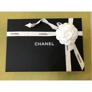 🚚 Chanel 專櫃 正品 紙盒 空盒 防塵袋  包裝盒 香奈爾 可裝boy25 mini coco woc 長夾 鉛筆鞋