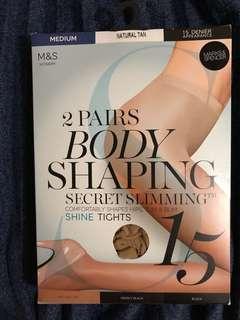 M&S Stockings Natural Tan 絲襪 肉色