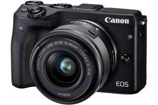 [半價] EOS M3 + 2支鏡Kit