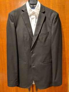 Zara 2 piece suit Black
