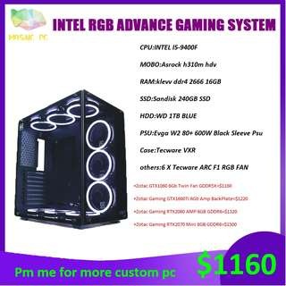 Ryzen 7 2700x GTX 1070 Gaming desktop/PC, Electronics