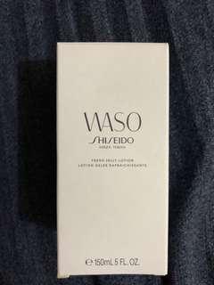 shiseido Waso 白雪耳清爽啫喱健膚水 Fresh Jelly Lotion