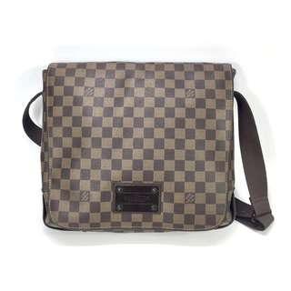 Authentic Pre-loved Louis Vuitton Damier Ebene Canvas Men's Messenger Bag
