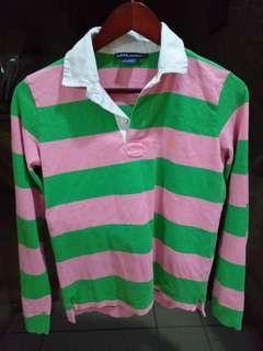 115 Ralph Lauren Polo Cotton Striped Top S