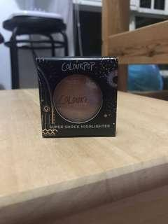 🚚 BRAND NEW Colourpop Super Shock Highlighter in On the Cusp