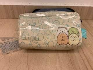 NWT authentic Sumikko Gurashi Pencil makeup cosmetic pouch