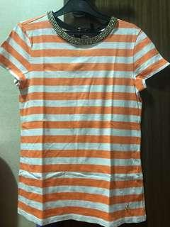 Juicy Couture stripe top