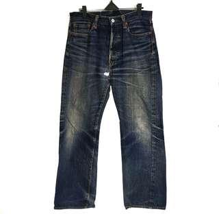 Vintage Two Moon Japan Selvedge Beauty Fading Natural Fade