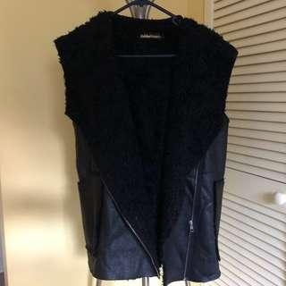 Fake Sheep leather Vest. very convenient for winter