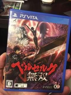 🚚 PS Vita Berserk and the Band of the Hawk JP version