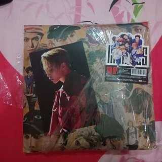 NCT 127 Limitless Album with Johnny/Jaehyun Postcard
