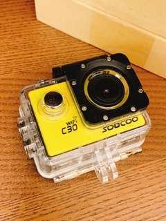 soocoo 相機 防水 戶外相機 4K 使用過一次