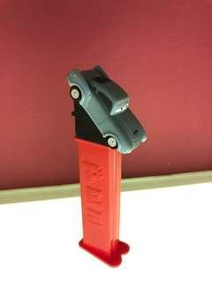 🚚 Disney Pixar cars movie character PEZ dispenser- grey car