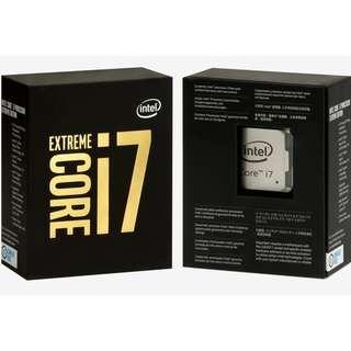原裝行貨10核20線  i7 6950X CPU LGA2011-3...x99主機板終極CPU