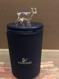 🚚 Swarovski Crystal goat