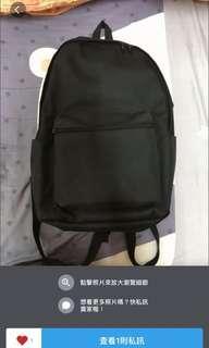 黑色 後背包