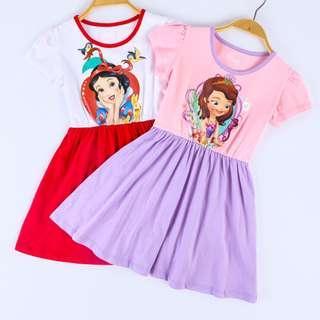 Preorder Snow white/Sofia princess dress