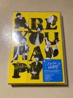 嵐 ARASHI ARE YOU HAPPY DVD 台版 通常 連紀錄片
