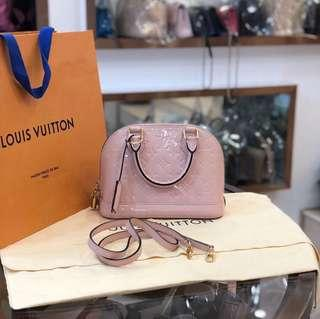 Authentic Pre-loved Louis Vuitton Alma BB Patent Leather